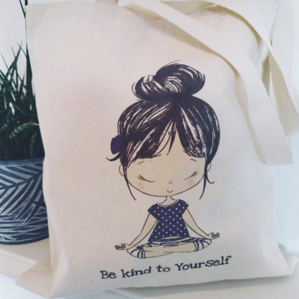 The Lily Tote - Be kind to yourself