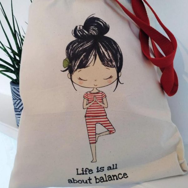 The Lily Tote - Life is all about balance.1