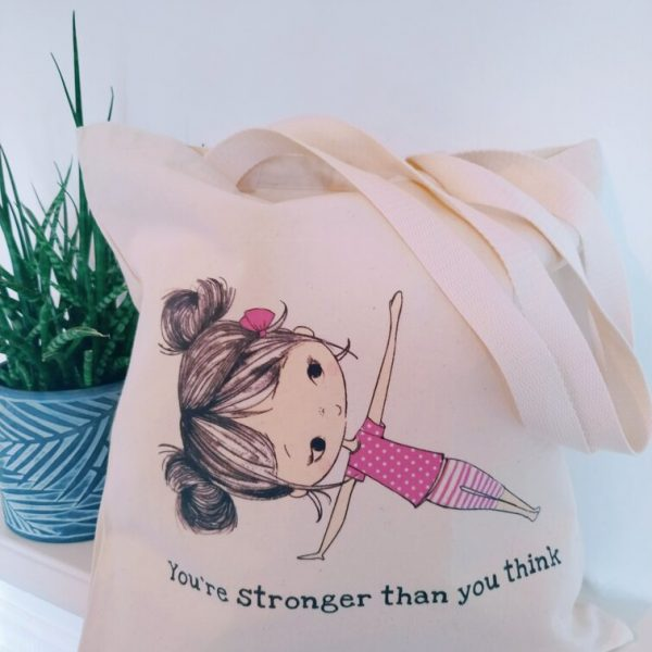 The Lily Tote - You're stronger.R