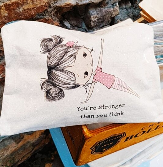 The Lily Pouch - you're stronger.. (Mkt B) Resize