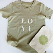 Love t-shirt Sage Green (adult).Resize